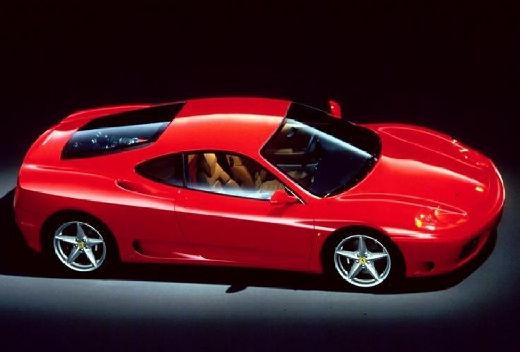 FERRARI 360 Spider kabriolet czerwony jasny przedni prawy