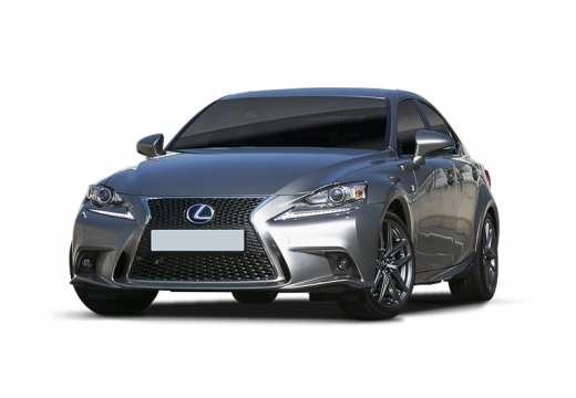 LEXUS IS V sedan silver grey