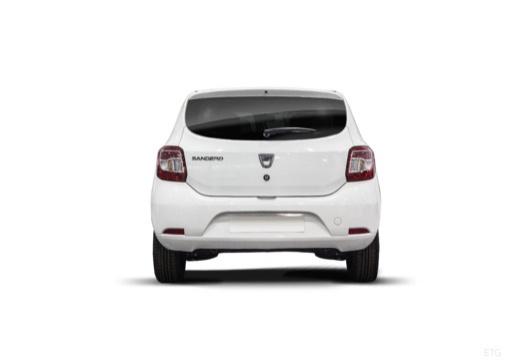 DACIA Sandero II hatchback tylny