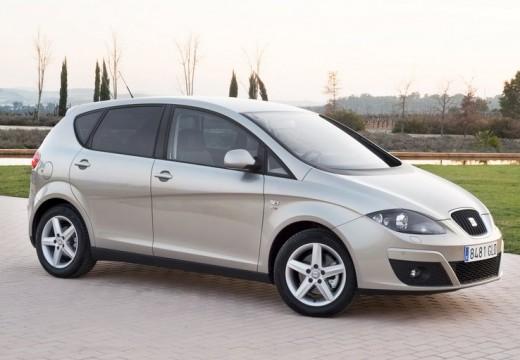 SEAT Altea XL II hatchback silver grey przedni prawy