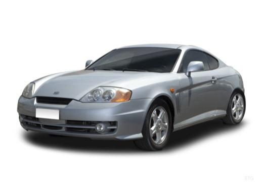 HYUNDAI coupe silver grey przedni lewy