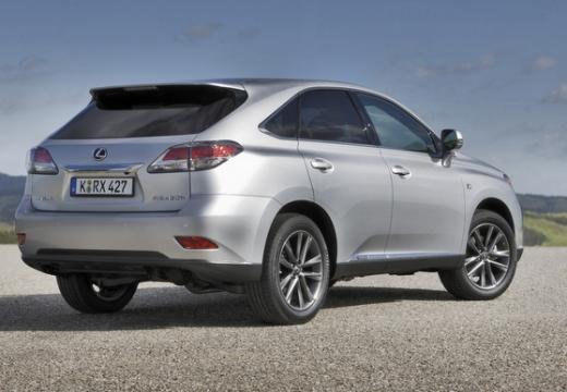 LEXUS RX III kombi silver grey tylny prawy