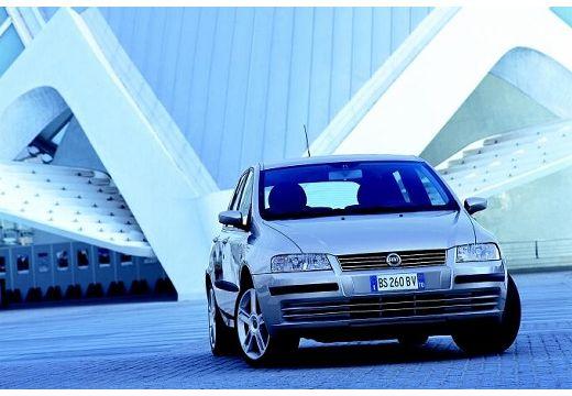 FIAT Stilo I hatchback silver grey przedni prawy