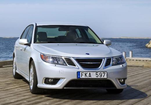 SAAB 9-3 Sport II sedan silver grey przedni prawy