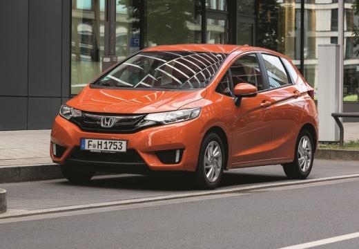 HONDA Jazz IV hatchback pomarańczowy przedni lewy