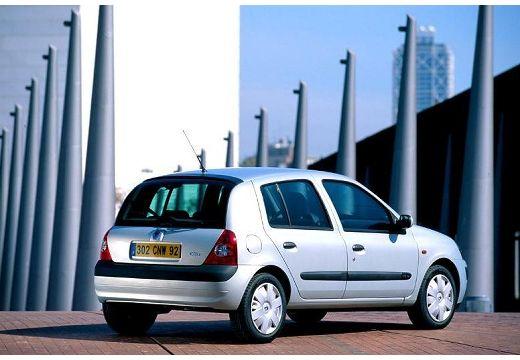 RENAULT Clio II II hatchback niebieski jasny tylny prawy
