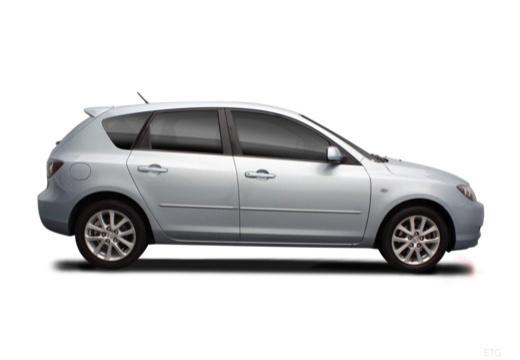 MAZDA 3 II hatchback boczny prawy