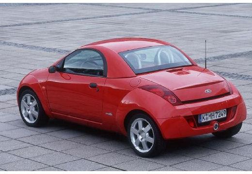 FORD Streetka roadster czerwony jasny tylny lewy