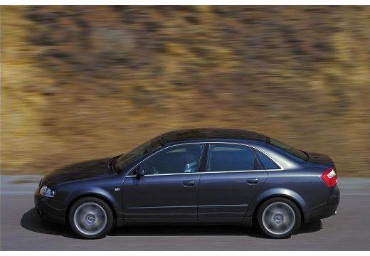 AUDI A4 8E I sedan czarny boczny lewy
