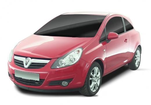 OPEL Corsa D I hatchback czerwony jasny