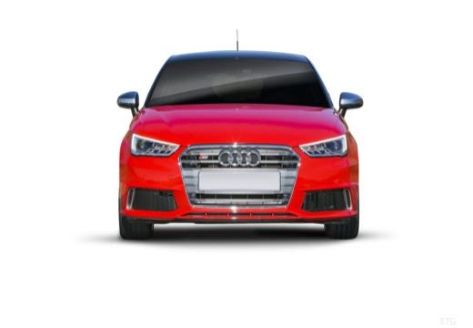AUDI A1 Sportback I hatchback czerwony jasny przedni