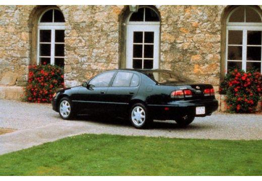 LEXUS GS 300 sedan czarny tylny lewy