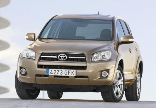 Toyota RAV4 kombi beige przedni lewy