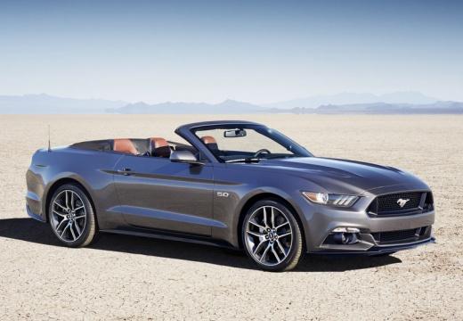 FORD Mustang Convertible I kabriolet szary ciemny przedni prawy