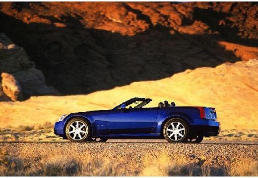 CADILLAC XLR roadster niebieski jasny tylny lewy
