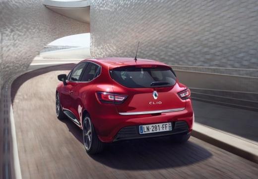 RENAULT Clio hatchback czerwony jasny tylny lewy