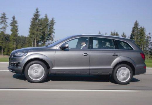 AUDI Q7 II kombi silver grey boczny lewy