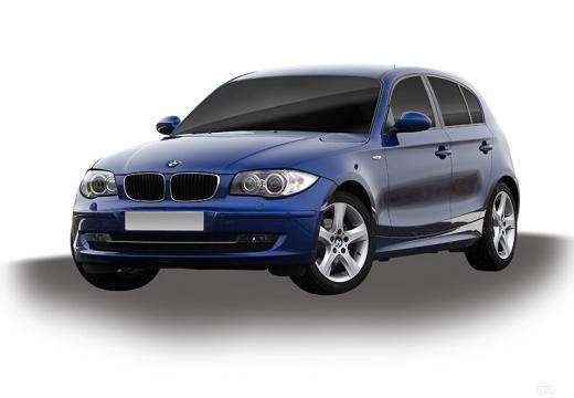 BMW Seria 1 E87 II hatchback niebieski jasny