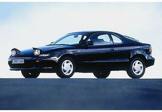 Toyota Celica coupe czarny przedni lewy