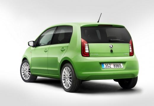 SKODA Citigo hatchback zielony tylny lewy
