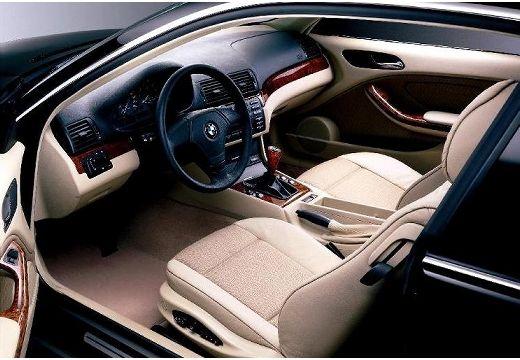 BMW Seria 3 coupe wnętrze