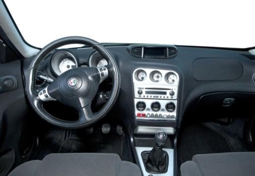 ALFA ROMEO 156 Sportwagon III kombi czerwony jasny tablica rozdzielcza