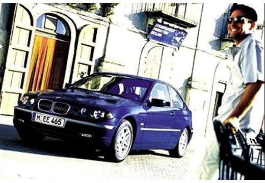 BMW Seria 3 hatchback niebieski jasny przedni lewy