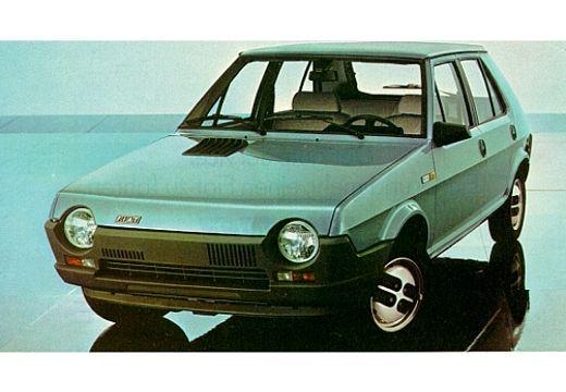 FIAT Ritmo III 138A hatchback niebieski jasny przedni lewy