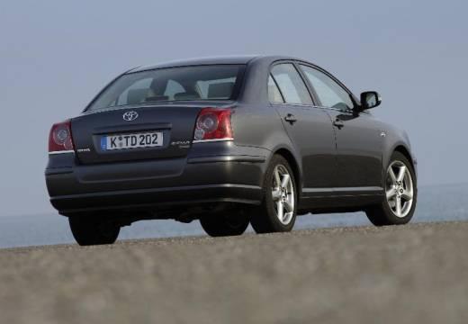 Toyota Avensis Liftback IV hatchback szary ciemny tylny prawy