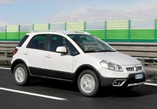 FIAT Sedici kombi biały przedni prawy