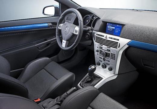 OPEL Astra III GTC II hatchback niebieski jasny tablica rozdzielcza