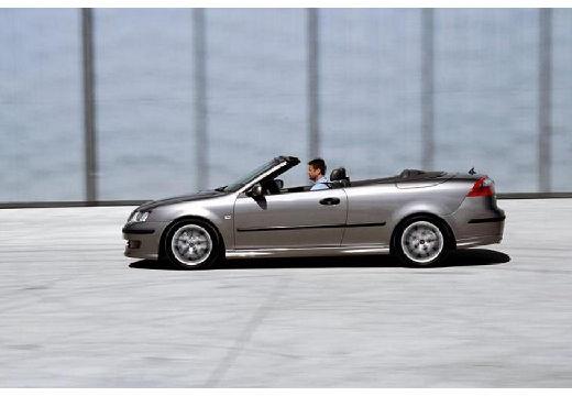 SAAB 9-3 Cabriolet II kabriolet silver grey boczny lewy