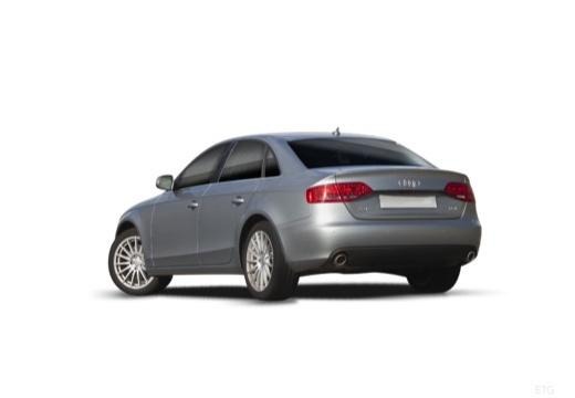 AUDI A4 B8 I sedan silver grey tylny lewy