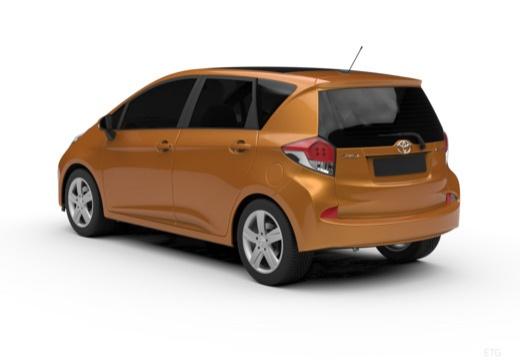 Toyota Verso-S hatchback tylny lewy