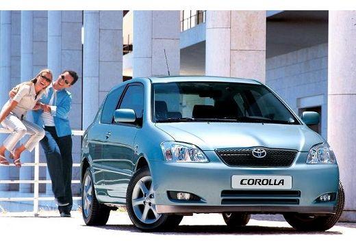 Toyota Corolla VI hatchback niebieski jasny przedni prawy