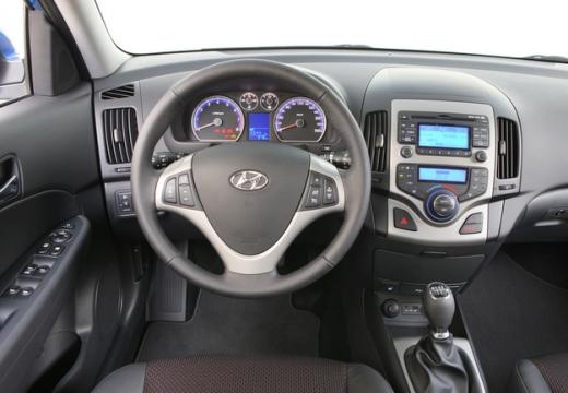 HYUNDAI i30 II hatchback tablica rozdzielcza