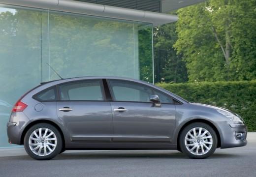 CITROEN C4 II hatchback silver grey boczny prawy