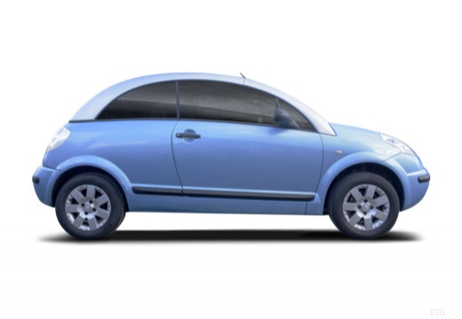 CITROEN C3 Pluriel hatchback boczny prawy