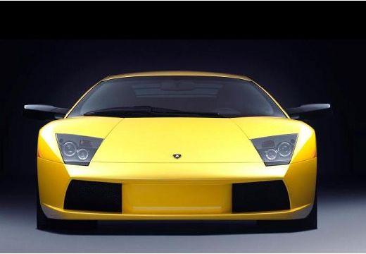 LAMBORGHINI Murcielago coupe żółty przedni