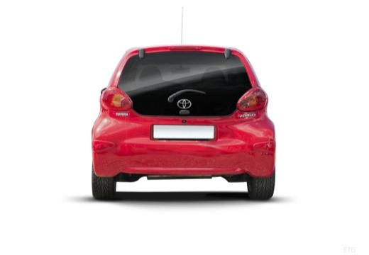 Toyota Aygo I hatchback tylny
