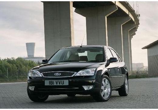 FORD Mondeo IV sedan czarny przedni lewy