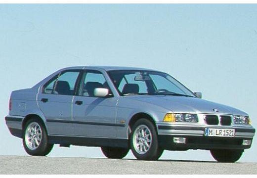 BMW Seria 3 E36 sedan silver grey przedni prawy