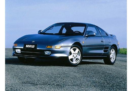 Toyota MR2 coupe niebieski jasny przedni lewy