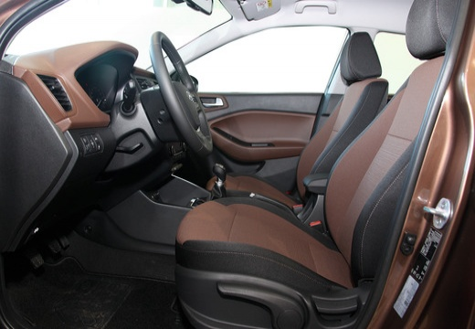 HYUNDAI i20 III hatchback brązowy wnętrze