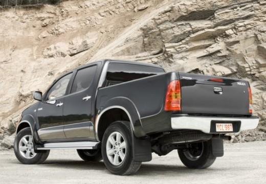 Toyota HiLux IV pickup szary ciemny tylny lewy