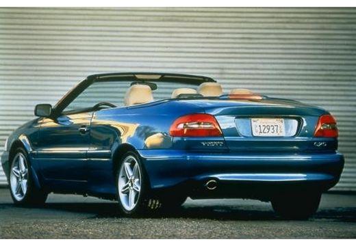 VOLVO C70 kabriolet niebieski jasny tylny lewy