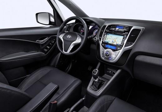 HYUNDAI ix20 hatchback silver grey wnętrze