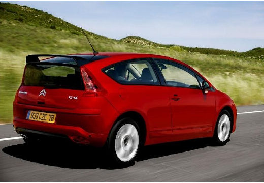 CITROEN C4 hatchback czerwony jasny tylny prawy