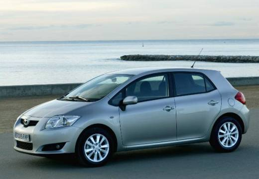 Toyota Auris I hatchback silver grey przedni lewy
