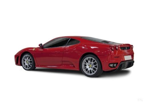 FERRARI 430 F coupe czerwony jasny tylny lewy
